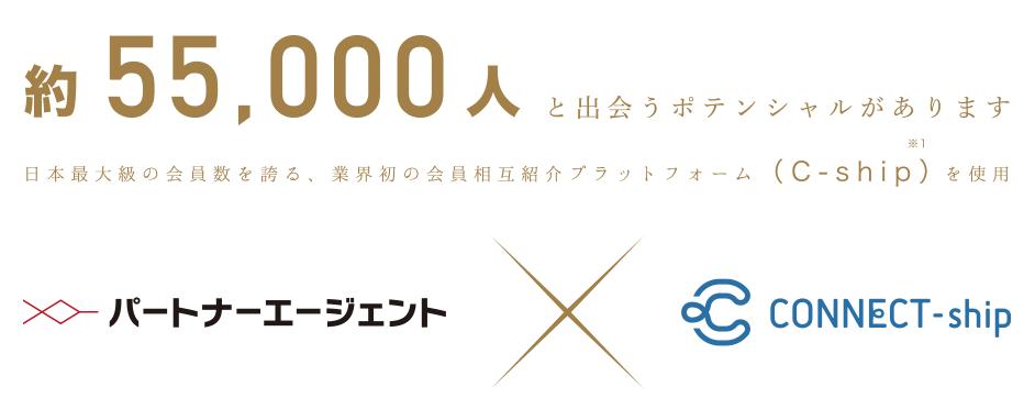 パートナーエージェント_日本最大級の5万人を超える会員様ネットワーク