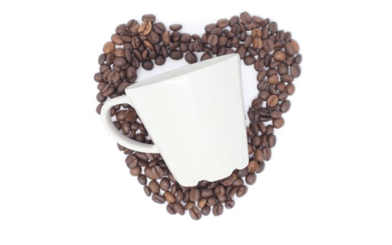 カフェのグラス画像